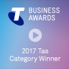 Telstra Small Business Awards - 2017 Tas Category Winner